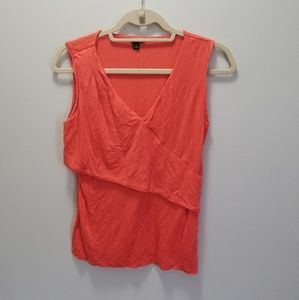 Orange Ann Taylor Blouse